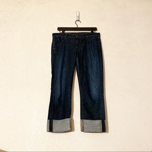Citizens of Humanity Dani Cropped Straight Jeans